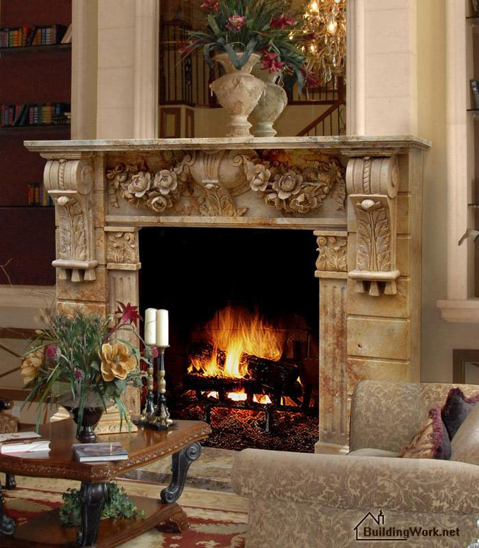 Fireplace definition and meaning  Collins English Dictionary
